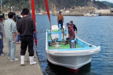 中古漁船輸送(絆)プロジェクト
