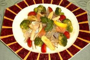 燻製サラダ