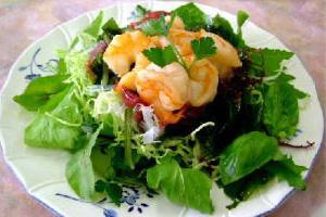 わかめと春野菜のサラダ