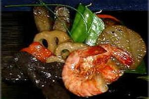 車海老の煮物