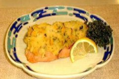 鮭のポテト焼き