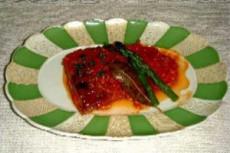 鯖のトマトソース煮