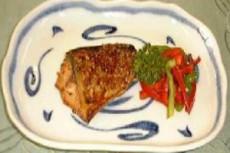 鯖の豆板醤焼き
