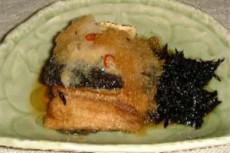 秋刀魚の卸し煮