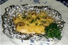 鯛のマヨネーズソース焼き