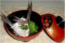 鯛の潮汁(鯛のあらを利用)